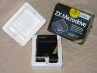 ZX Microdrive and box
